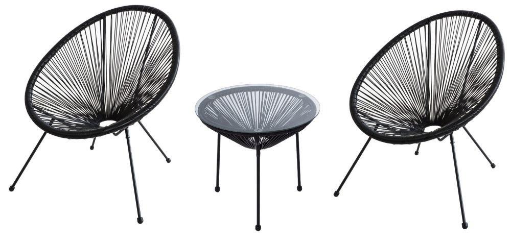 Meble Ogrodowe Zestaw Stol 2 Krzesla Fotele Ratan 7365553474