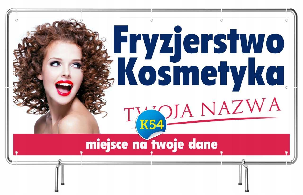 Hit Solidny Baner Reklama 2x1 Fryzjer Kosmetyka 7017048155