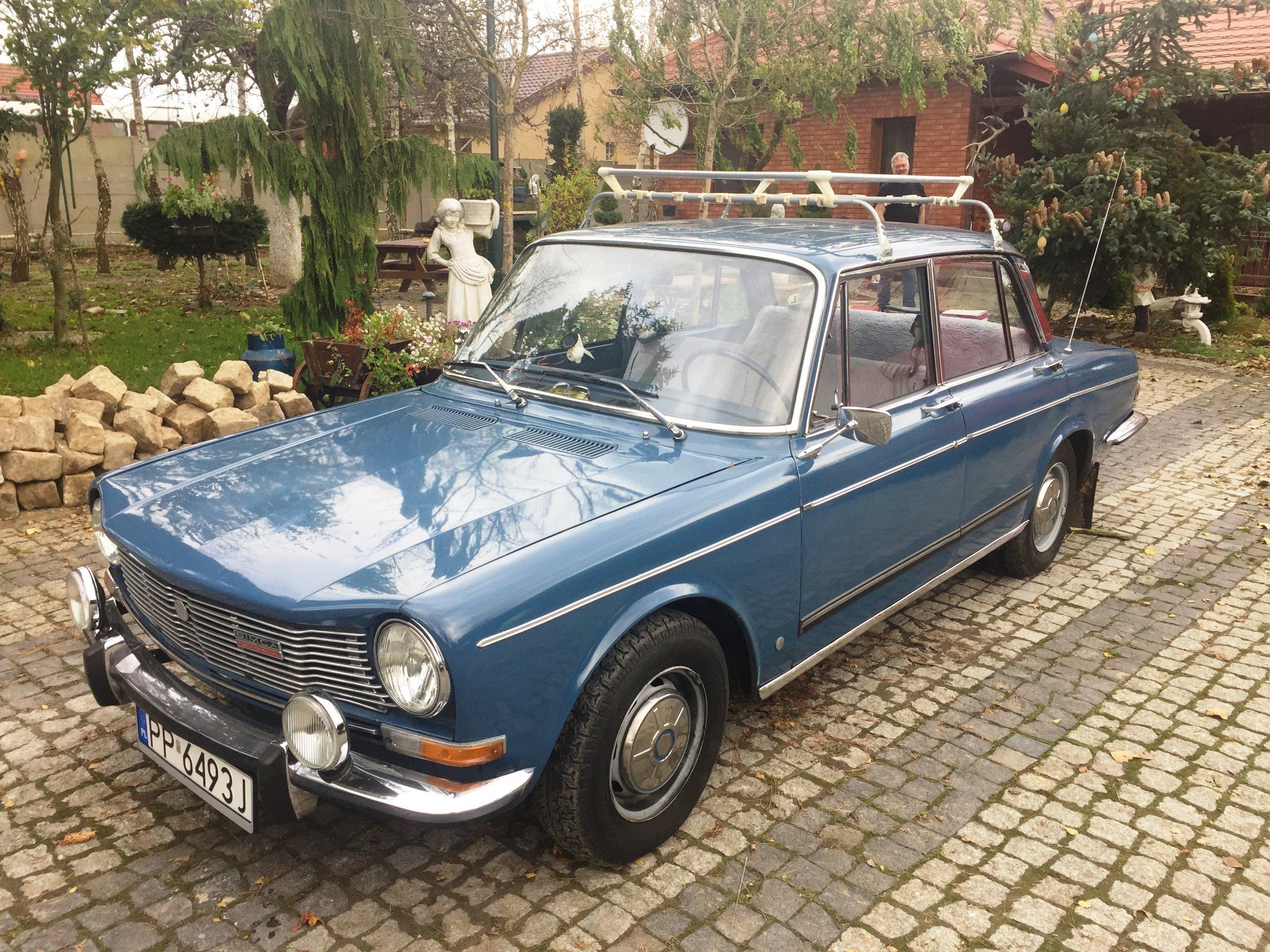 Simca 1300 1971rok, samochód zabytkowy