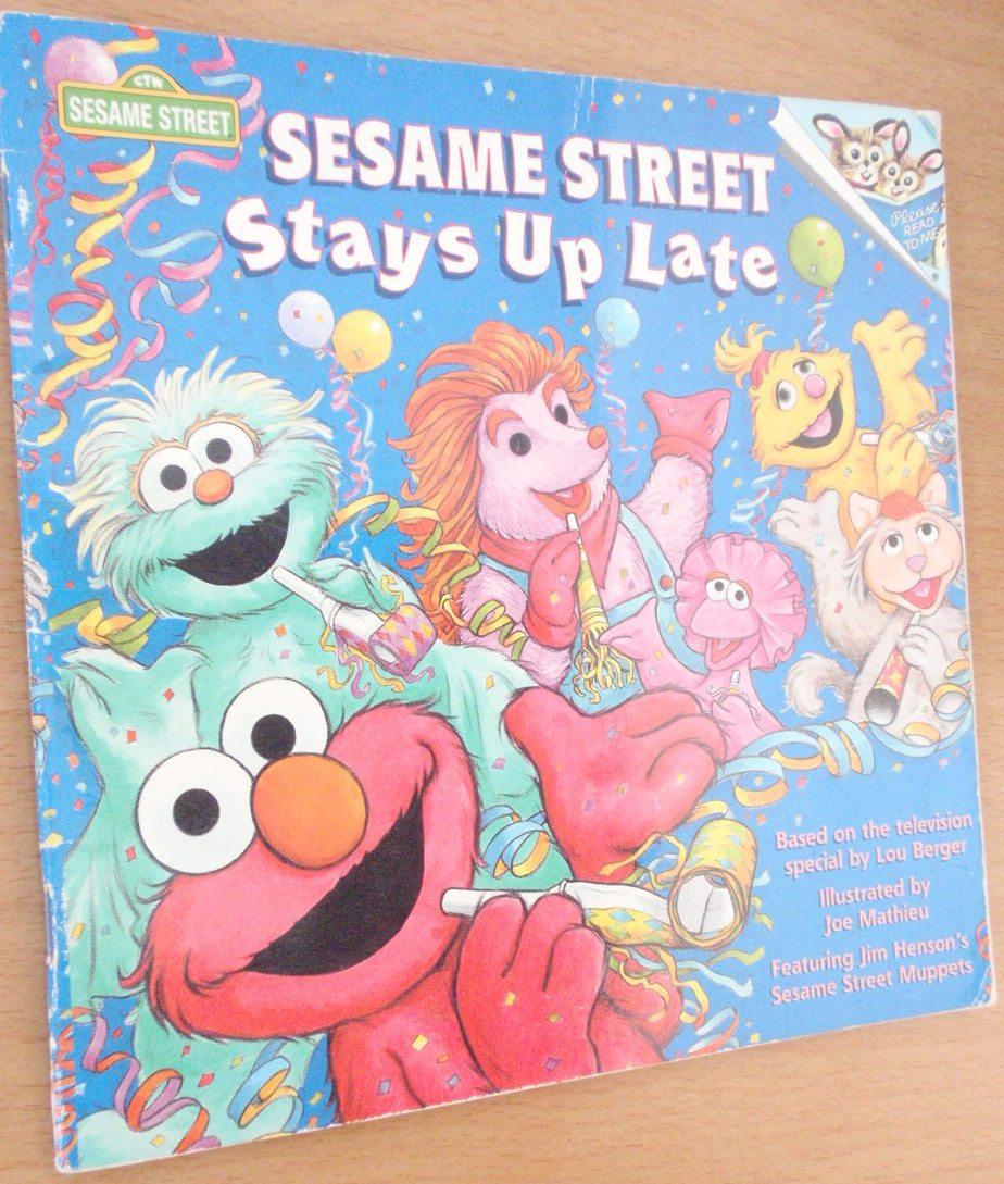 Sesame Street Stays Up Late