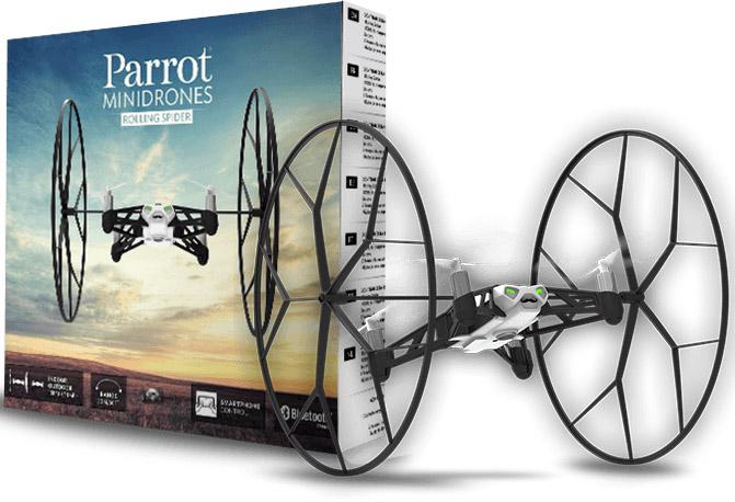 DRON Latający Jeżdżący Parrot Rolling Spider