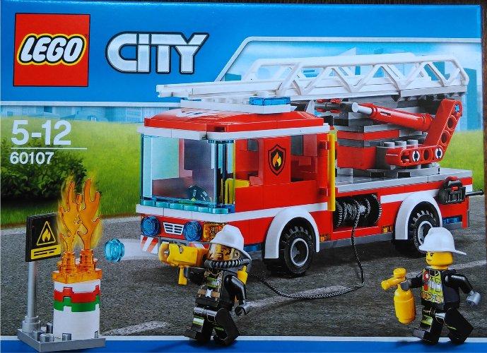 Lego City Wóz Strażacki Straż Pożarna 60107 Klocki 7052564509