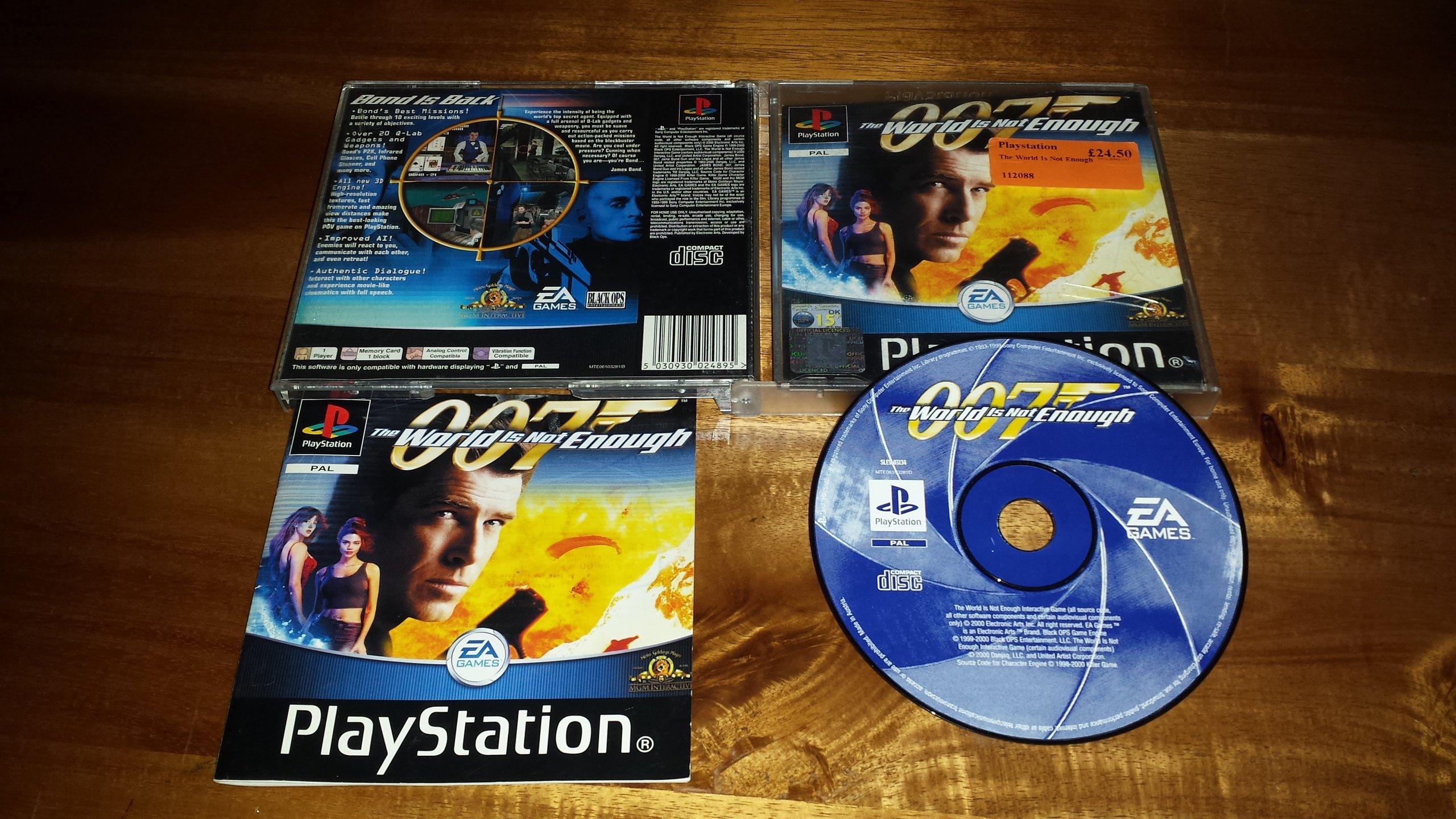 007 THE WORLD IS NOT ENOUGH PSX     OKAZJA!!!ŁÓDŹ