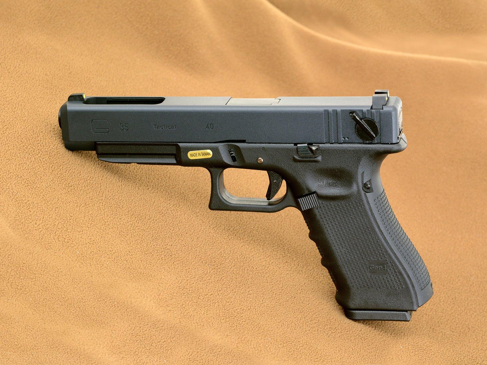 Pistolet WE G35 gen.4 BLACK nowy, OSTATNIE SZTUKI