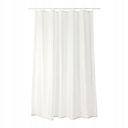 IKEA SAXALVEN zasłona prysznicowa 180x200 cm biały