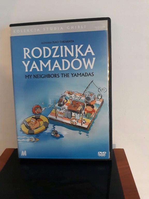 Rodzinka Yamadów Studio Ghibli DVD