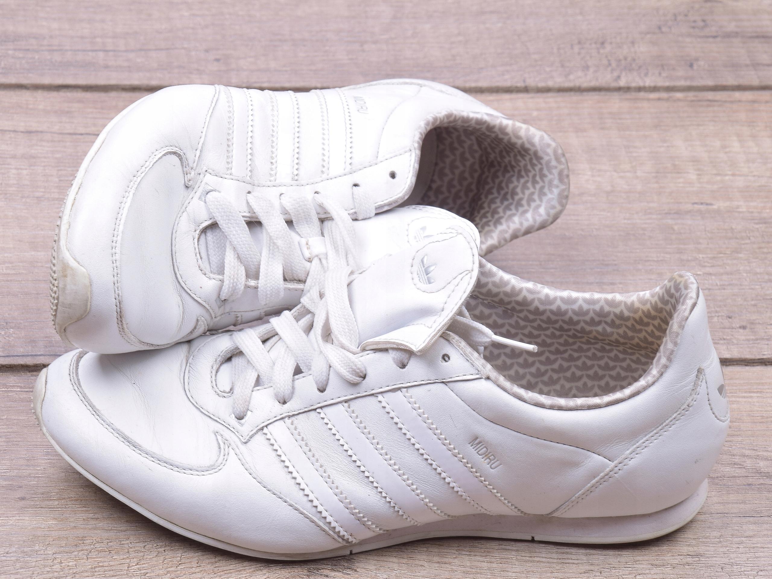 ADIDAS Midiru Skórzane buty SPORTOWE 38 23 OKAZJA