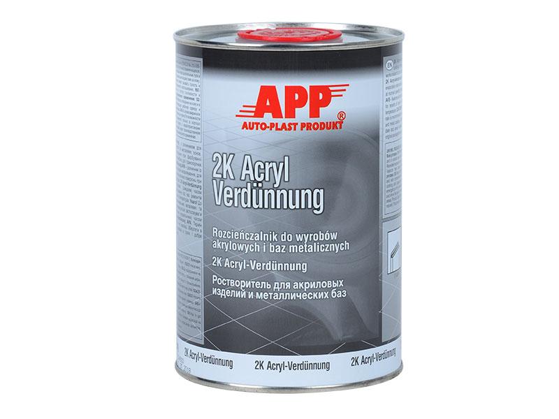 Rozcieńczalnik do akryli i lakierów APPnormalny 1L
