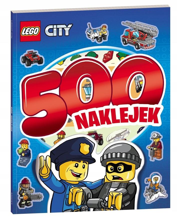 Kolorowanka Lbs 11 Lego City 500 Naklejek 7294809342 Oficjalne