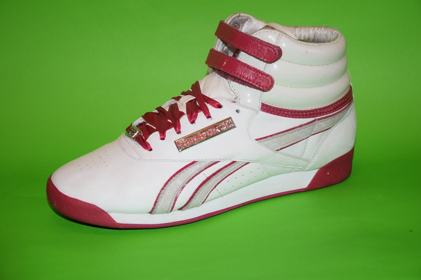 Reebok classic białe buty portowe wysokie adidasy r 35 ,5