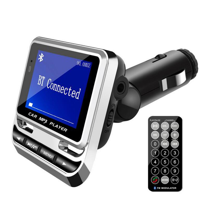 Zestaw głośnomówiący MP3 FM USB ładowarka adapter