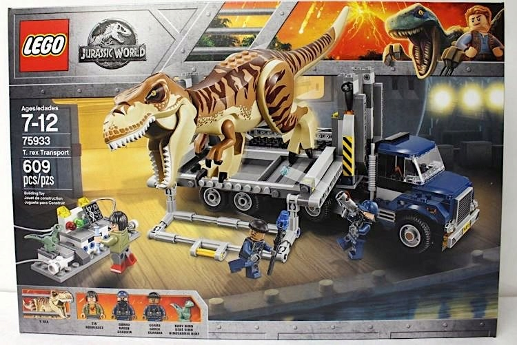 LEGO 75933 plus lego 40292 plus bombka z renifere