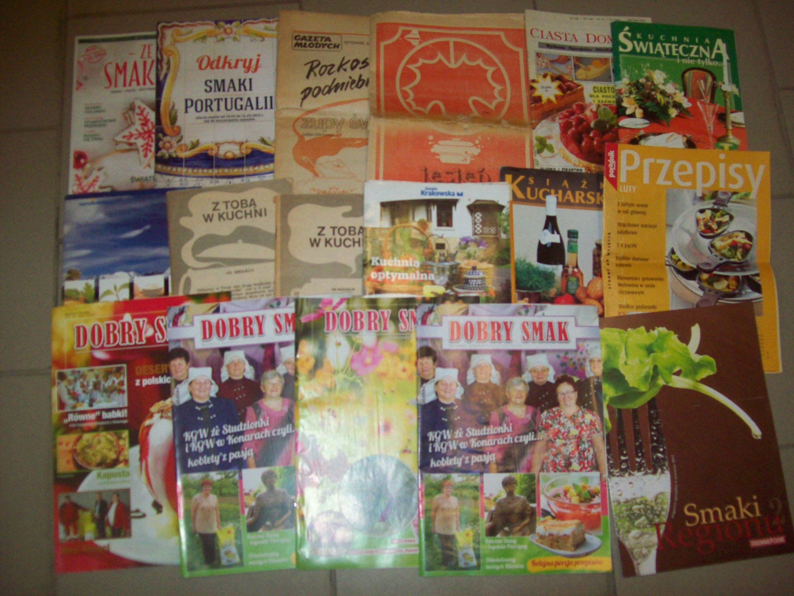 Czasopisma Kulinarne Zestaw 17 Sztuk 7293891601