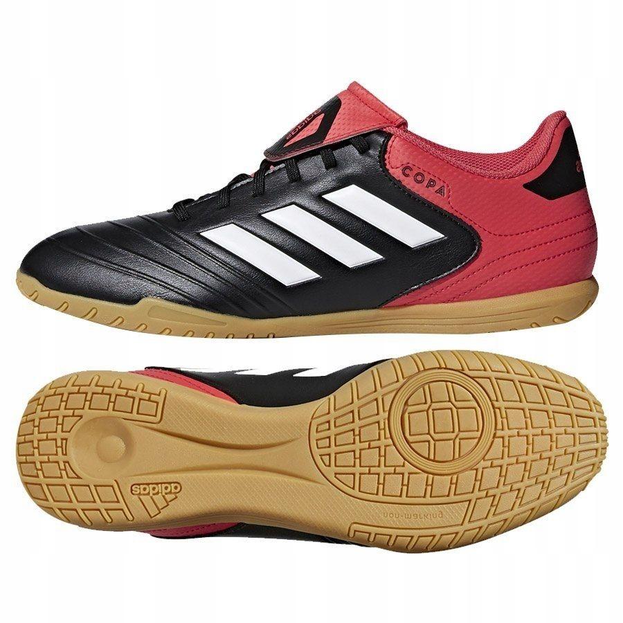 Buty treningowe męskie adidas COPA 19.4 czarne halowe