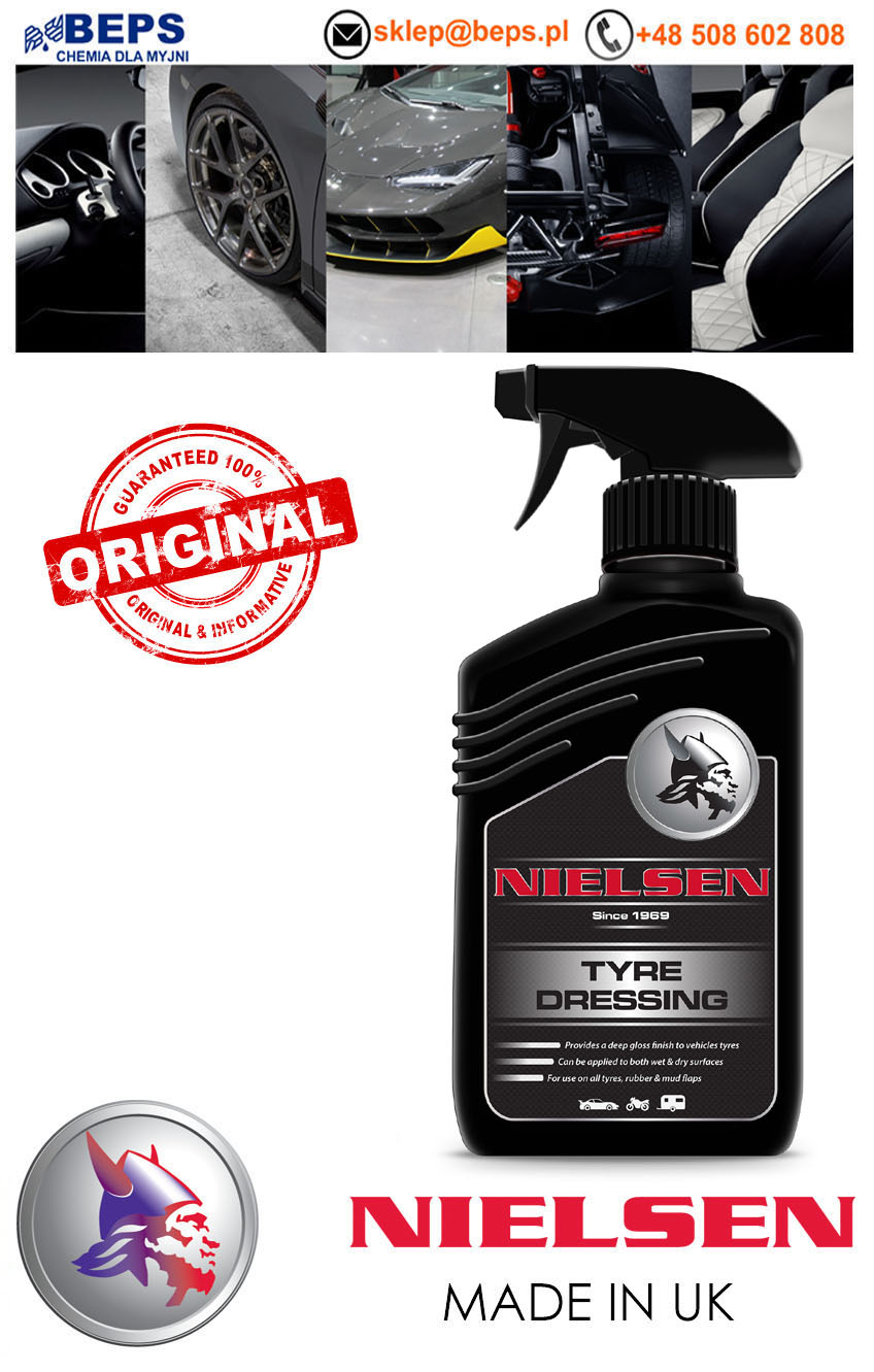 Nielsen RETAIL RANGE Tyre Dressing do opon