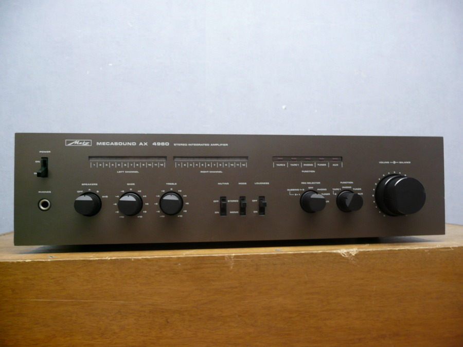 METZ AX 4960 - SOLIDNY WZMACNIACZ STEREO