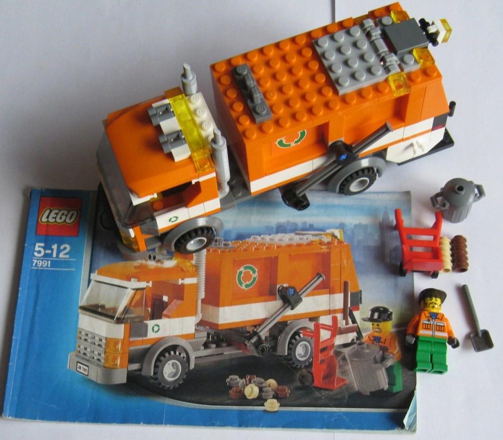 Klocki Lego City 7991 śmieciarka Instrukcja 7716910818