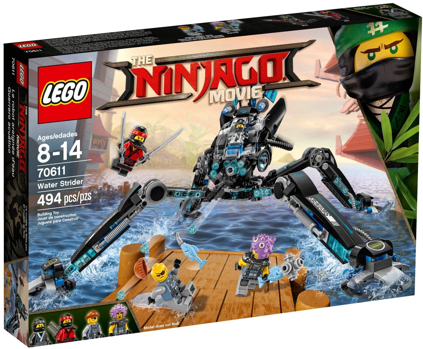 Klocki Lego Ninjago Movie 70611 Nartnik Pająk 24h 7276395654