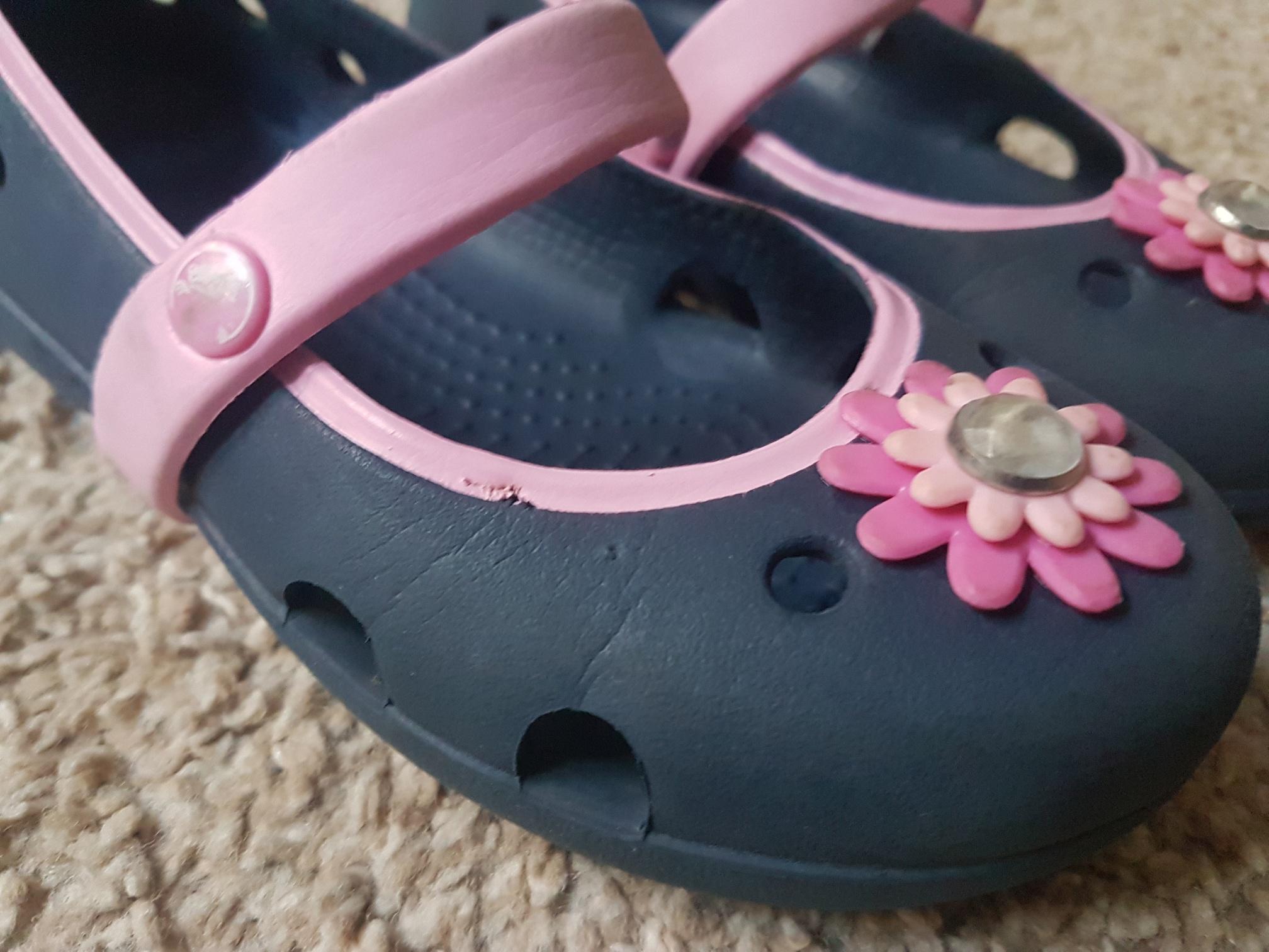 nowe wydanie buty do biegania świetna jakość Balerinki sandałki CROCS C10 27/28 - 7312969829 - oficjalne ...