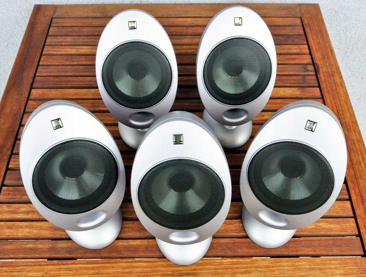 Legendarny zestaw głośników KEF HTS2001 5.0