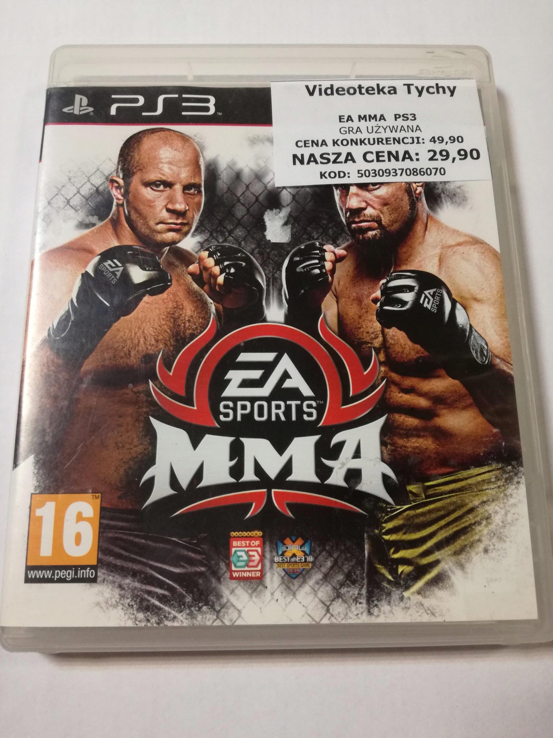 GRA EA SPORTS MMA PS3 - 7308526922 - oficjalne archiwum allegro