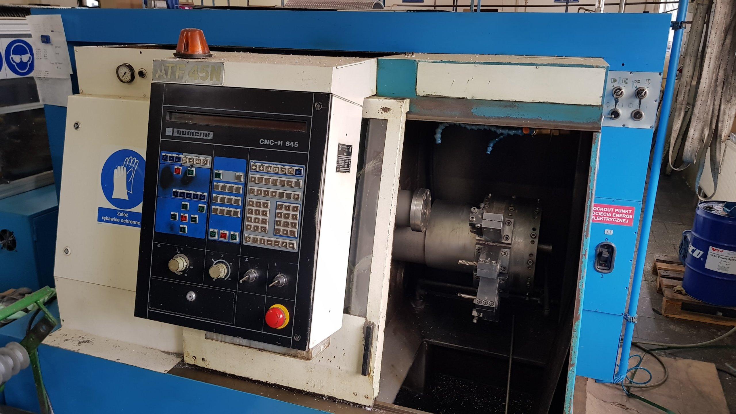Nowość AUTOMAT TOKARSKI CNC ATF-45 - 7289401500 - oficjalne archiwum allegro HY78