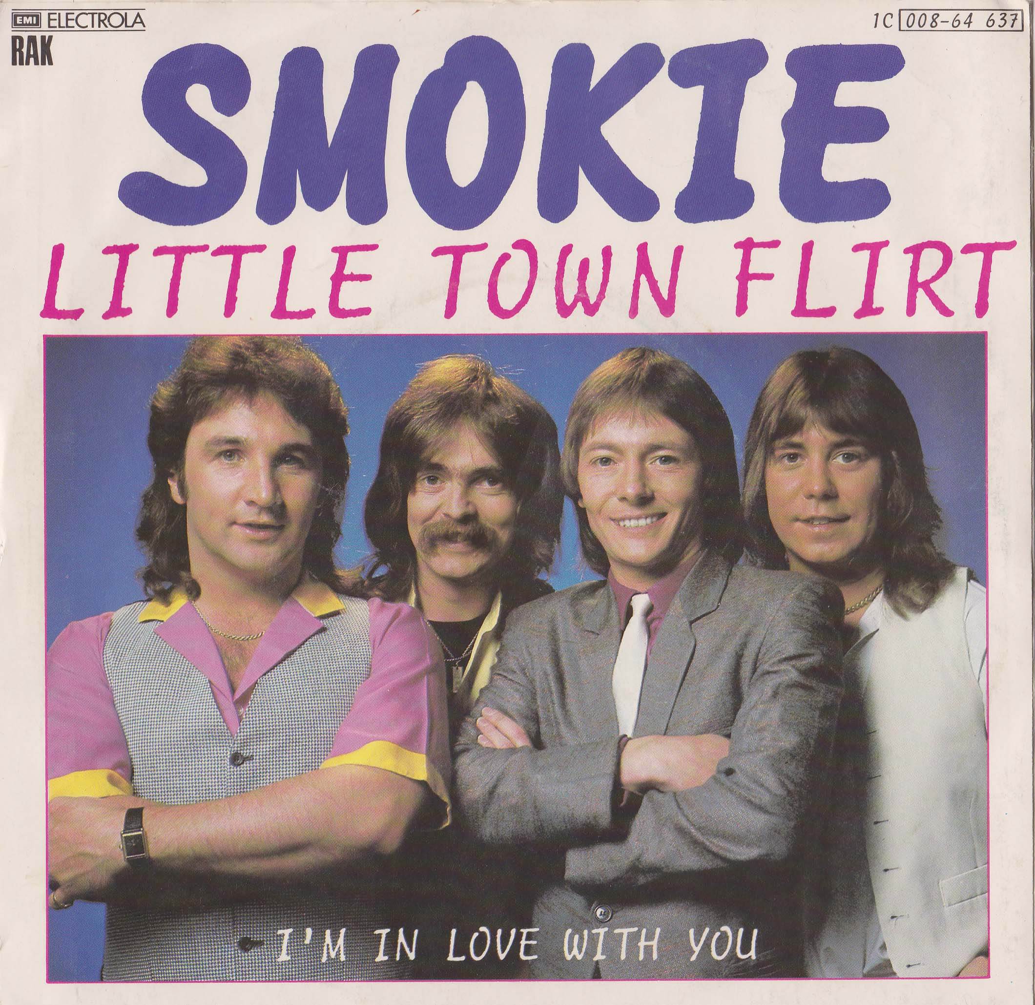 "SMOKIE - Little Town Flirt  7"" (EX)"