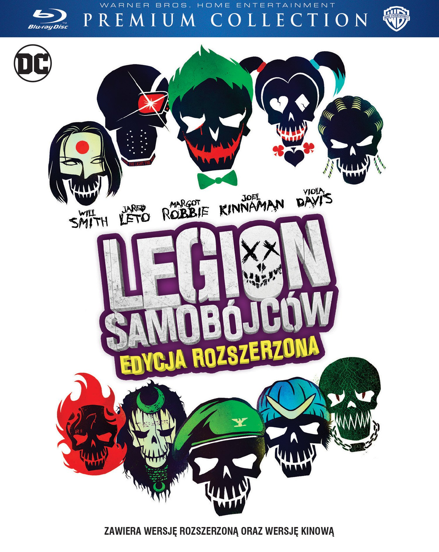 Legion samobójców Extended Cut Premium Collection
