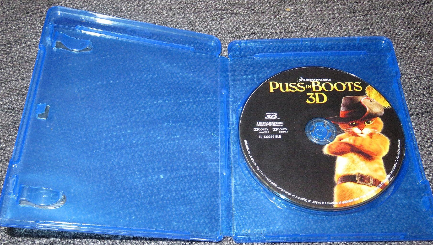 Blu Ray Kot W Butach 2011 Puss In Boots 3d 7080530008