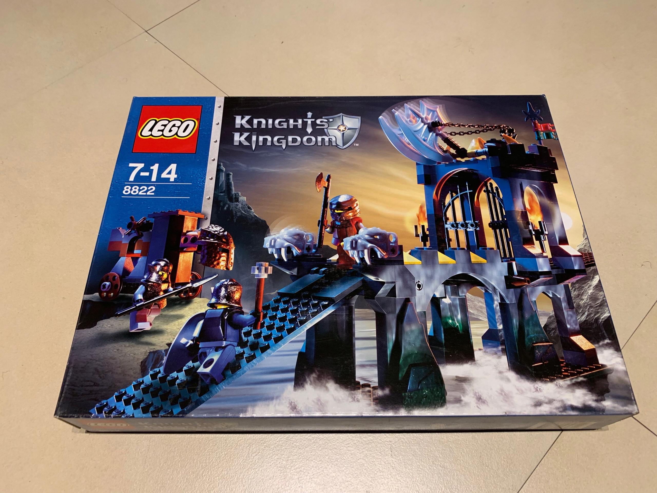 LEGO KNIGHTS' KINGDOM 8822 GARGOYLE BRIDGE UNIKAT