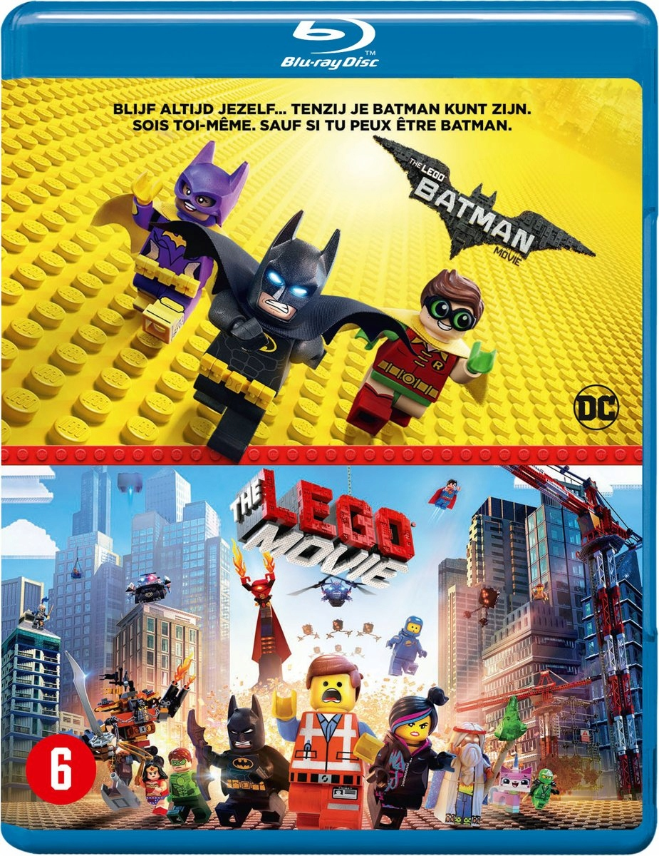 BLU-RAY Animation - Lego Batman Movie.. -3D- .. Le