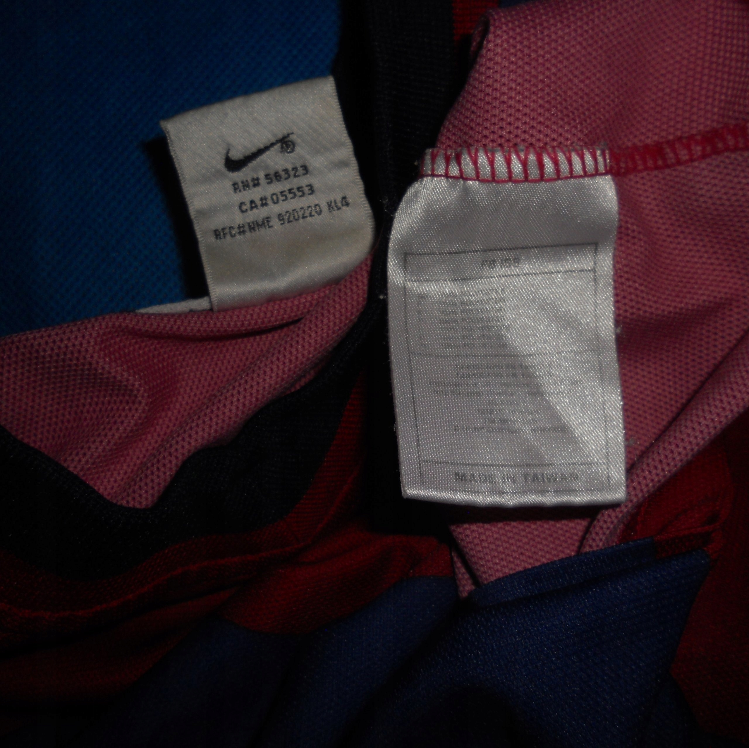 456ef93cb FC Barcelona Nike Home Shirt 1998 99 Unikat XL - 7431410501 ...