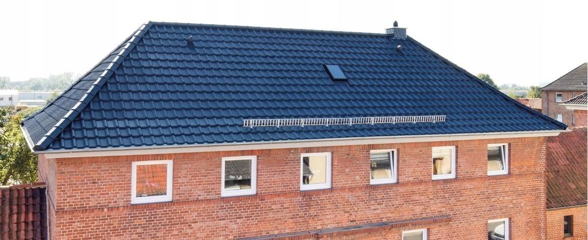 Bardzo dobryFantastyczny dachówka ceramiczna TITANIA czarna glazura CREATON - 7444641773 TB37