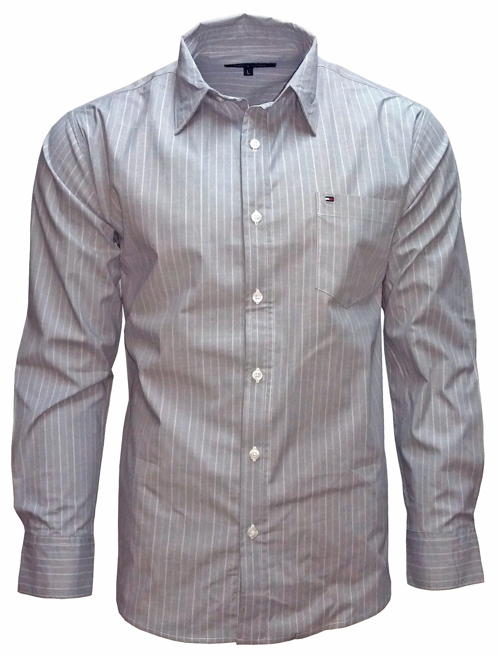 910c61399f1af TOMMY HILFIGER koszula męska NOWA paski XL - 7050246801 - oficjalne ...
