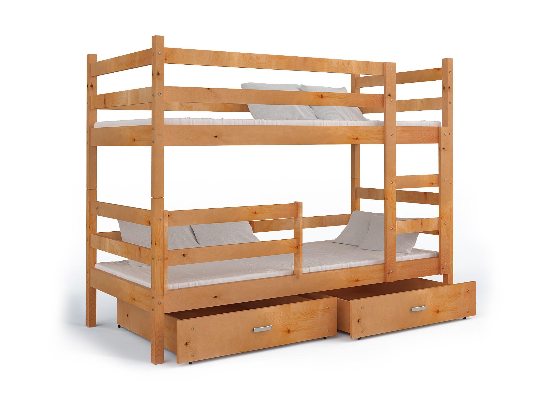 łóżko Piętrowe Jack 2 Osobowe Materace Tanio
