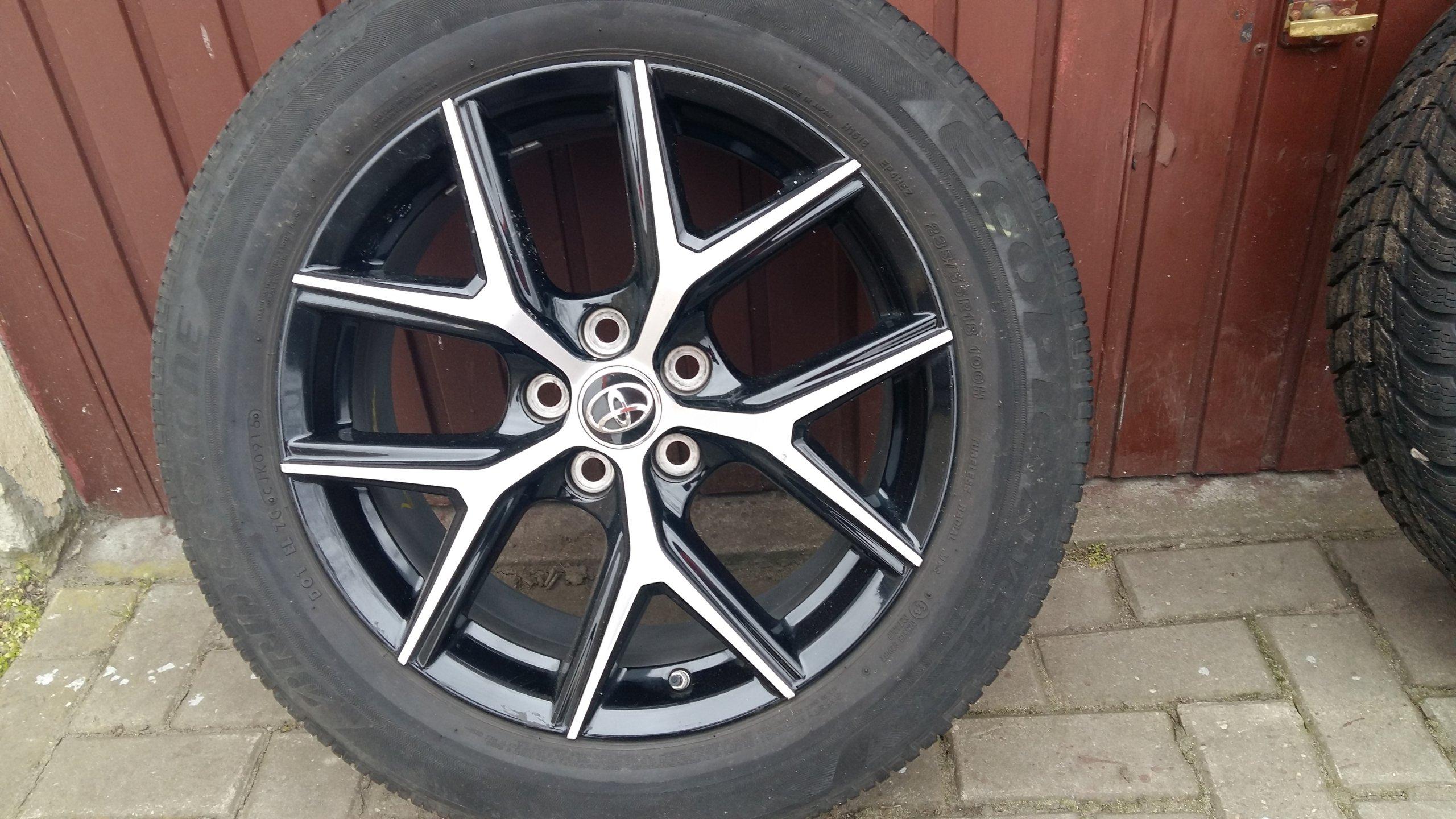 Toyota Rav 4 Alufelgi 18 Opony Letnie Zimowe 7250192441