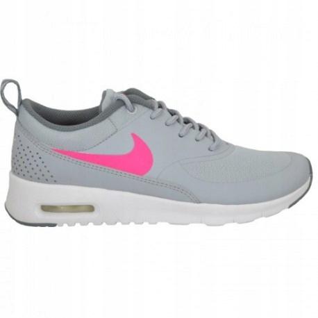 Buty Nike Air Max Thea GS (814444002) Szare, Różowe • sklep