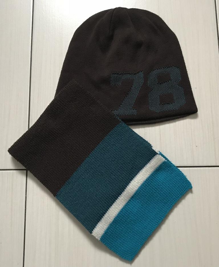 Komplet H&M (czapka+szalik)