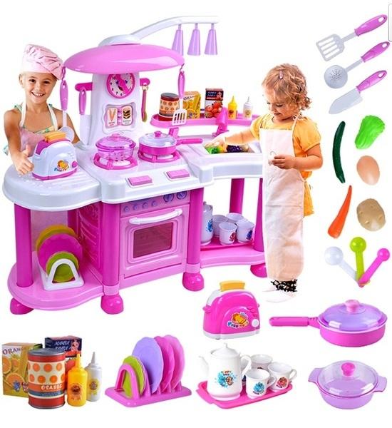 Kuchnia Dla Dzieci Dziecka Podwojna Kran Z Woda 6949642411