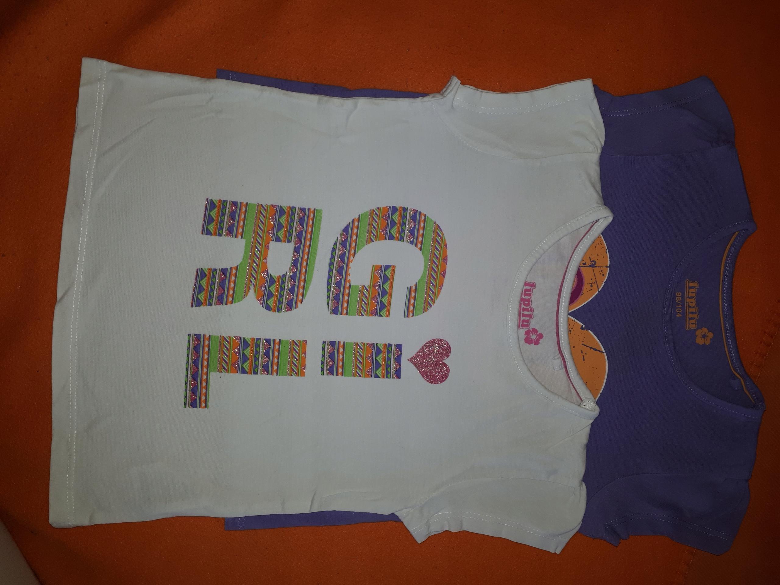 cfcd48af2 Lupilu koszulki dla dziewczynki 98/104 - 7457889733 - oficjalne ...