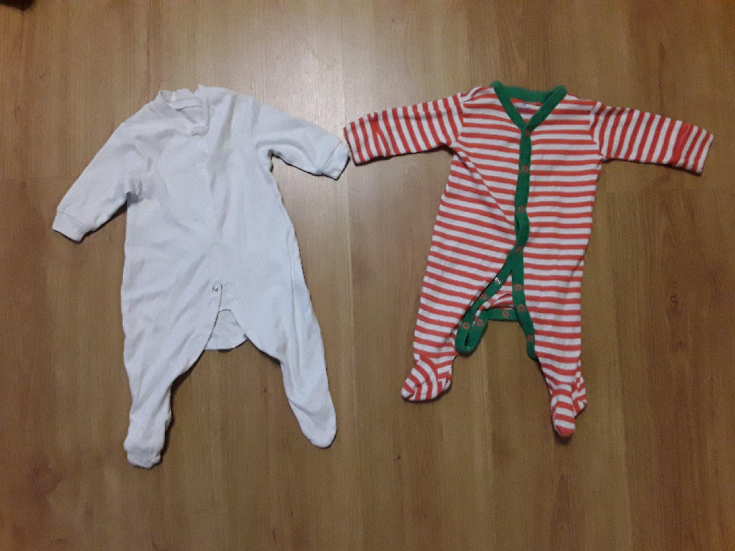89bb7eafa0 Pajace pajacyki dla niemowlaka 4 szt 0-3m paka - 7169770409 ...