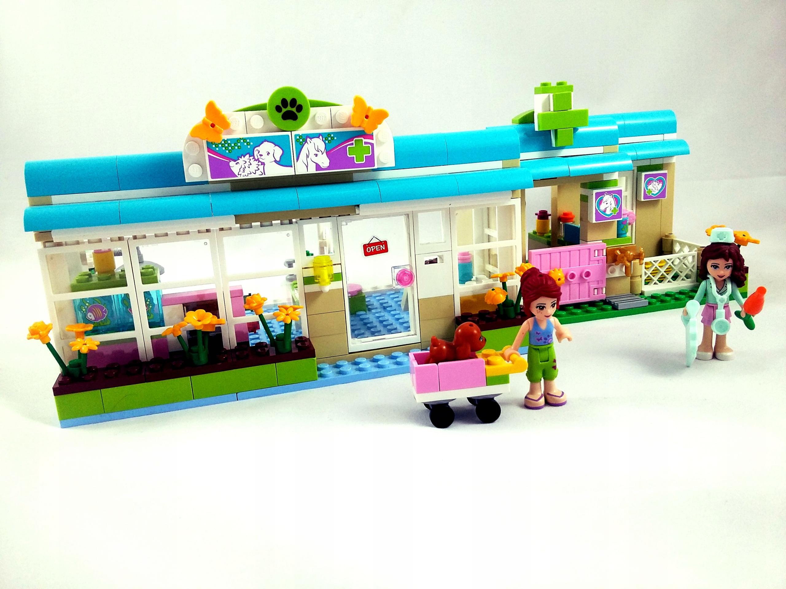 Lego Friends Weterynarz Klinika W Heartlake 3188 7783706758