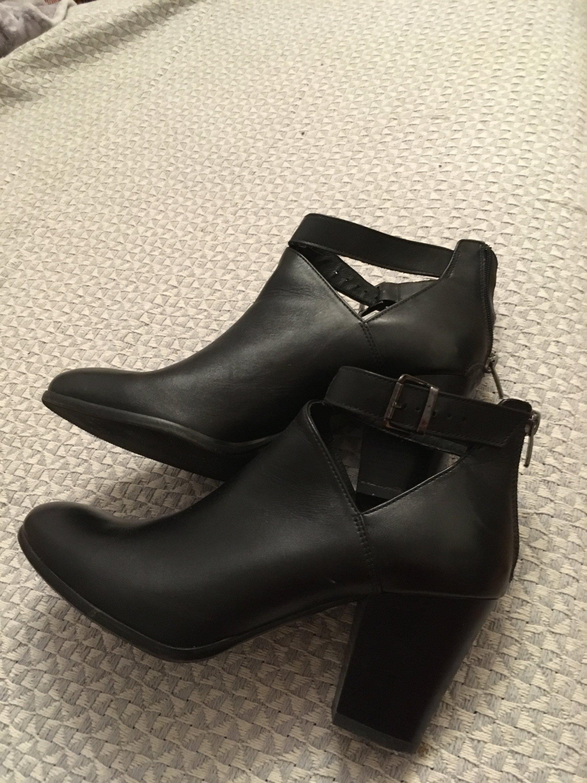 33ea4aa22dd67 Lasocki buty botki CCC czarne 40 prawie nowe skóra - 7233664326 ...