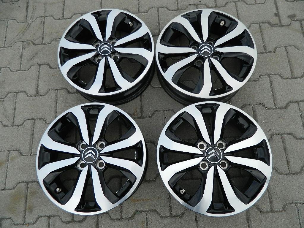 Felgi Aluminiowe Citroen C1 15 Et35 4x100 7451254202 Oficjalne