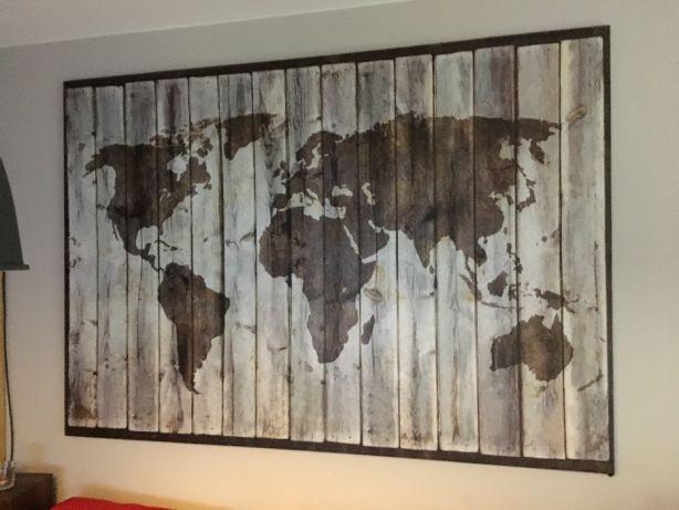 Mapa świata Ikea Bjorksta 200x140 7270701565 Oficjalne