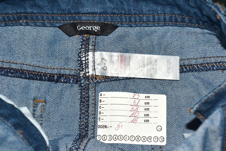 fc07e07b DD_400 GEORGE DZIEWCZĘCE OGRODNICZKI JEANSOWE 116