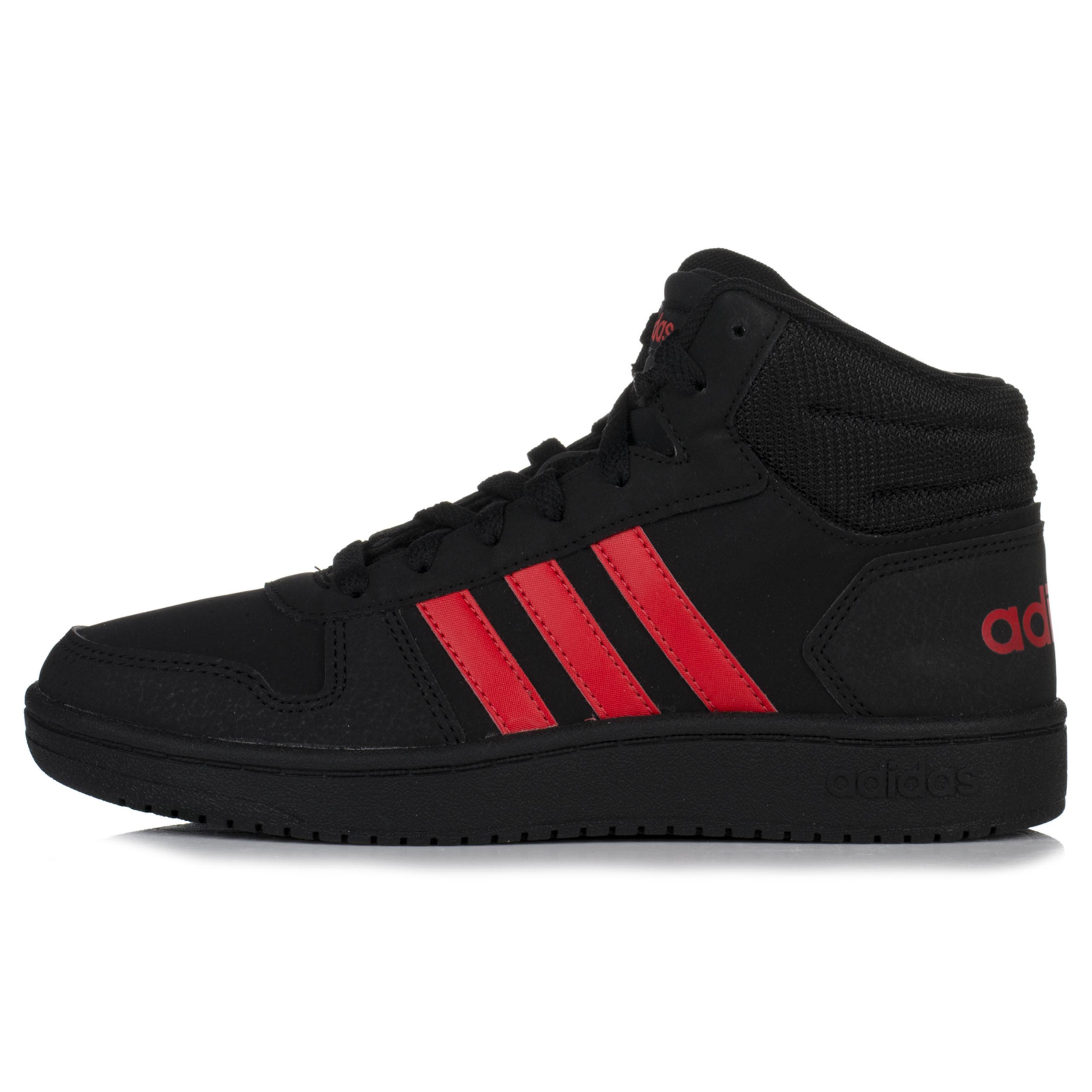 Buty damskie adidas Hoops Mid czarne za kostkę 7171257552