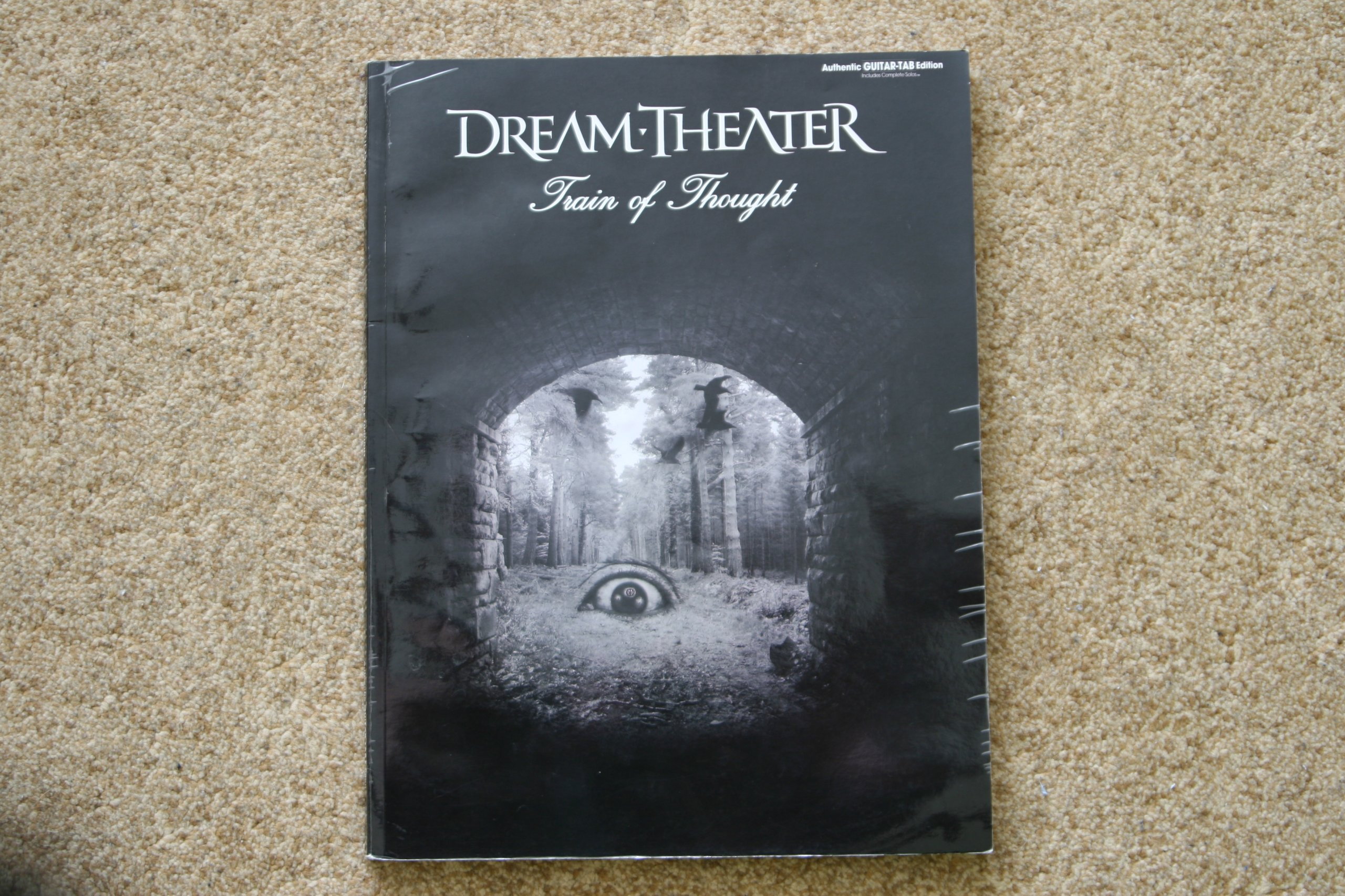 Dream Theater tabulatura Train of Thought