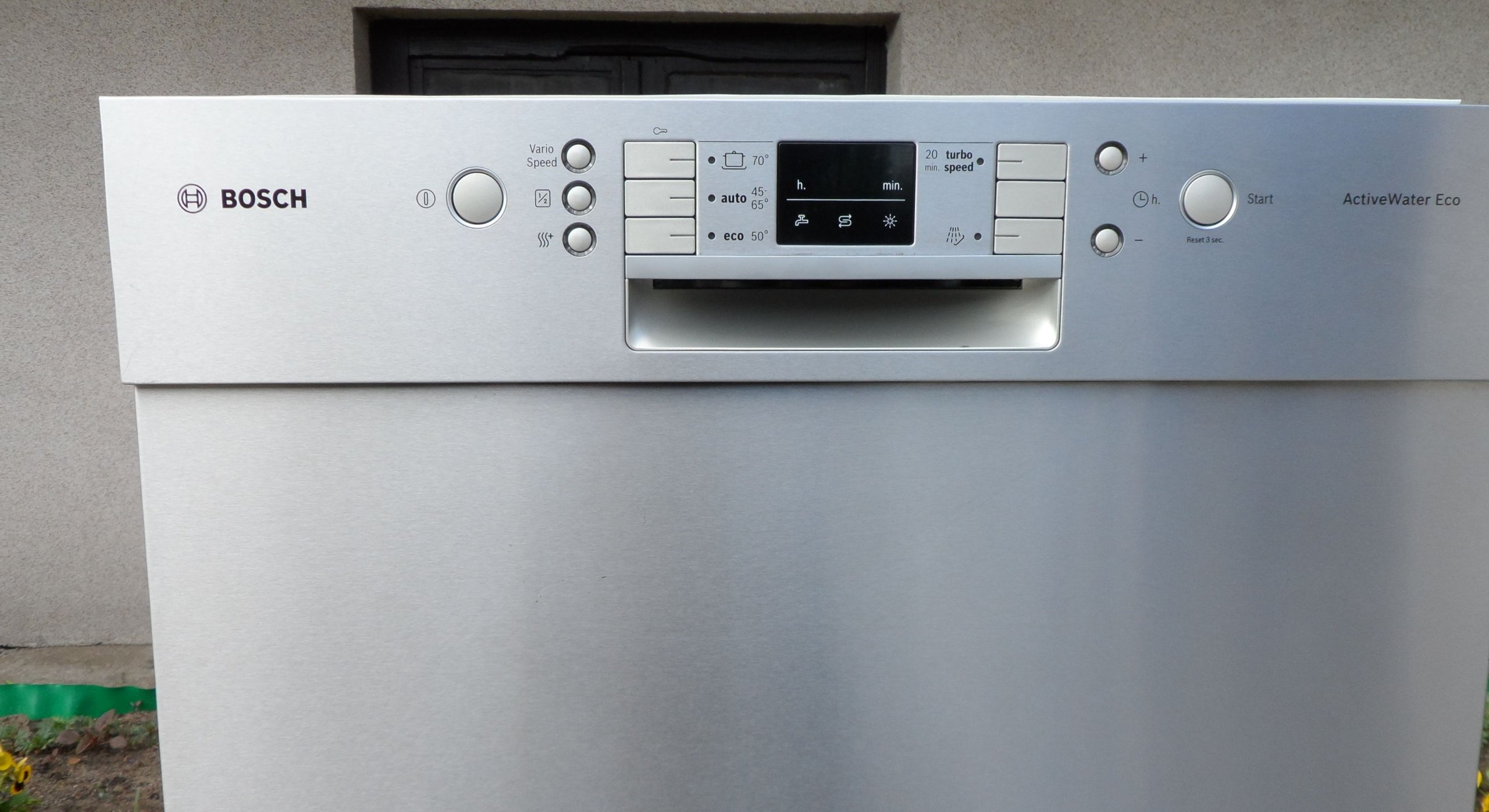 Bosch Activewater Eco Panel Front Inox A 7325924213
