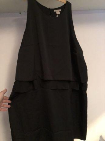 209218e055 H M nowa sukienka czarna XXL plus size - 7648668836 - oficjalne ...